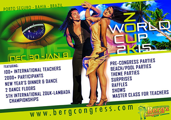 Zouk-Lambada Dance Congress