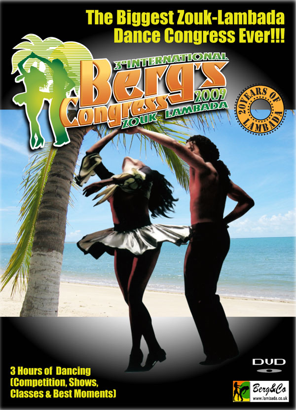 III International Zouk-Lambada Dance Congress DVD 2009 front cover