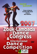 Lambada Dance Congress 2007 DVD cover