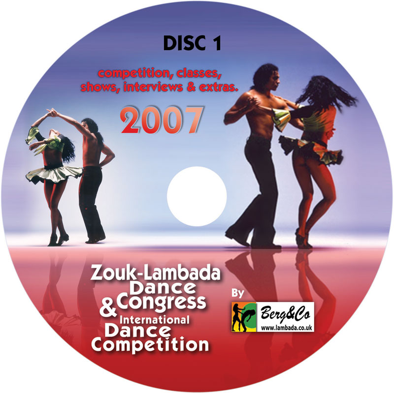 Lambada congress DVD 2007 - disc one