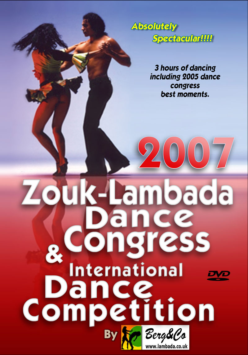 Lambada Dance Congress 2007 DVD front cover
