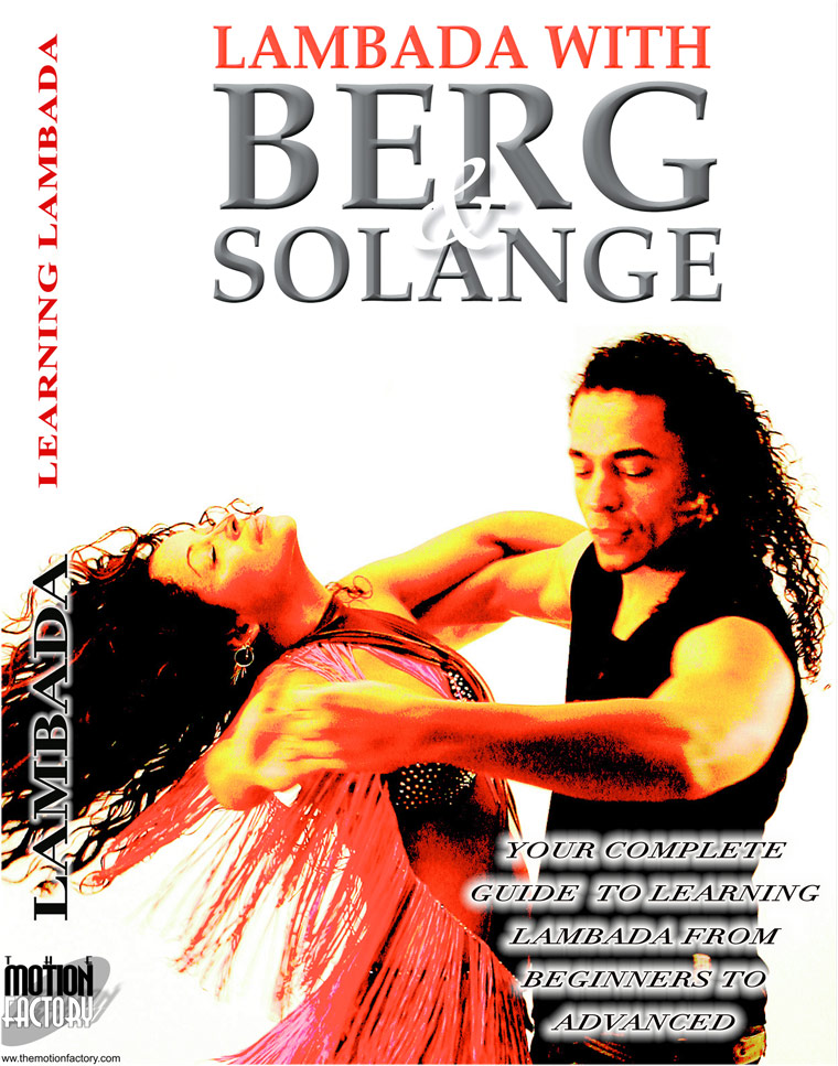 Lambada with Berg and Solange instructional DVD full cover: front
